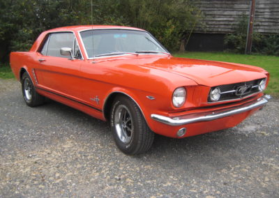 1964 Ford Mustang Notchback