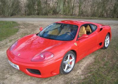 2001 Ferrari 360 Modena F1 LHD