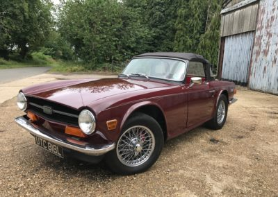 1972 Triumph TR6 CP 150 PI     This car is now sold