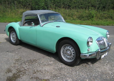 1958 MGA Twin Cam Roadster This car is now sold
