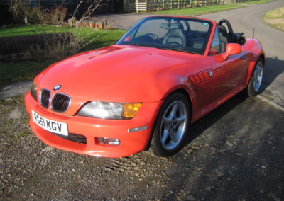 2001  BMW Z3 2.2 Automatic.  41000 miles ..SOLD
