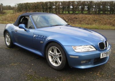 2000 BMW Z3 2.0 Automatic. 45000 miles …  SOLD