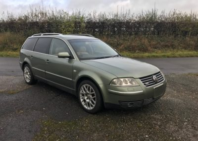 2002 VW passat W8 estate automatic. This car is now sold