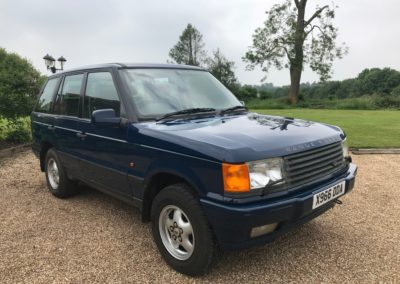 2000 Range Rover 4.6 HSE Auto  £5750  SOLD