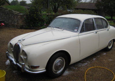 1968 Jaguar S Type 3.4 Manual  £6850
