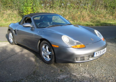 2001 Porsche Boxster 2.7 Manual SOLD CAR