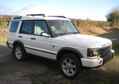 2005 Land Rover Discovery Series 11 4.0 V8 ES Auto…. SOLD CAR… Another car on its way.