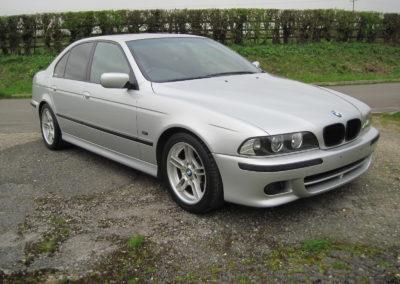 2003 BMW 525i M Sport Saloon Auto done 55000 miles Grade 4.5 (mint).SOLD