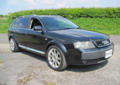 2004 Audi Allroad 4.2 V8 Auto Estate.   Awesome car in Black with two tone Black/Grey leather. SOLD