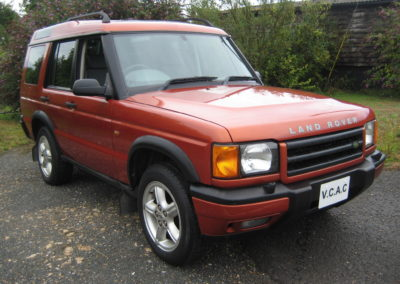 2000 Land Rover Discovery 4.0 V8 ES Auto.  56000 miles Kinver Sand Metallic with Grey Leather . £6000