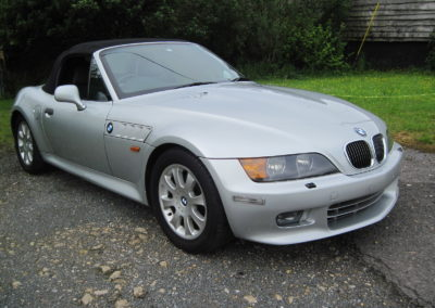 2000 BMW Z3 2.8 Sport Auto.  Grade 4B car 48500 miles    SOLD CAR