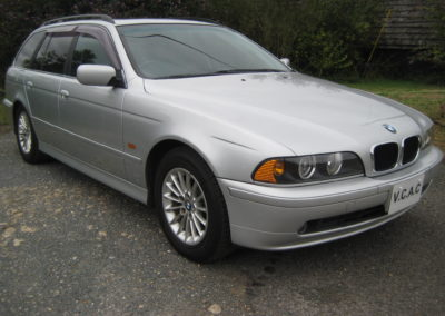 2002 BMW 525 Highline Touring Auto 54500 miles Grade 4.5 Top Condition Car. SOLD