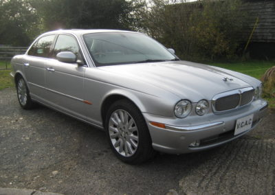 2003 Jaguar XJ350 3.5 V8 Auto. 67000 miles Grade 4B car. Sovereign Spec. SOLD