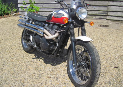 2008 Triumph Bonneville Scrambler 6800 miles £4500