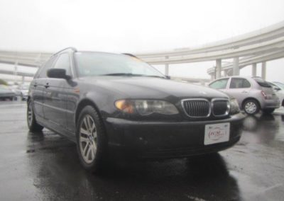 2003 BMW 325 Touring Auto. Top spec car done 53000 miles from new.  SOLD