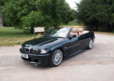 2002 BMW 330 Ci Sport Cabriolet Auto 62000 miles   UK car in Superb Condition £5500
