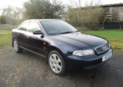 1997 Audi A4 2.8 Quattro Saloon Auto. Very rare car done 51000 miles. SOLD CAR