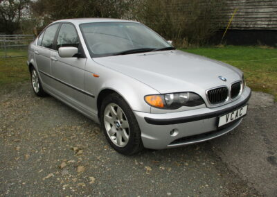 2003 BMW 325 Saloon Automatic. Grade 4.5 and 19000 Miles from new(Mint) SOLD