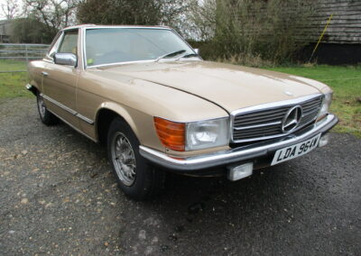 1980 Mercedes SL380 Automatic. Very clean Car throughout SOLD