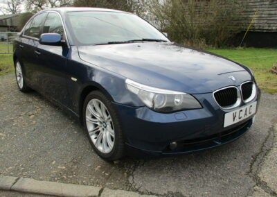 2003 BMW 530 Saloon Auto Top spec car in Top Class condition. 33000 miles SOLD