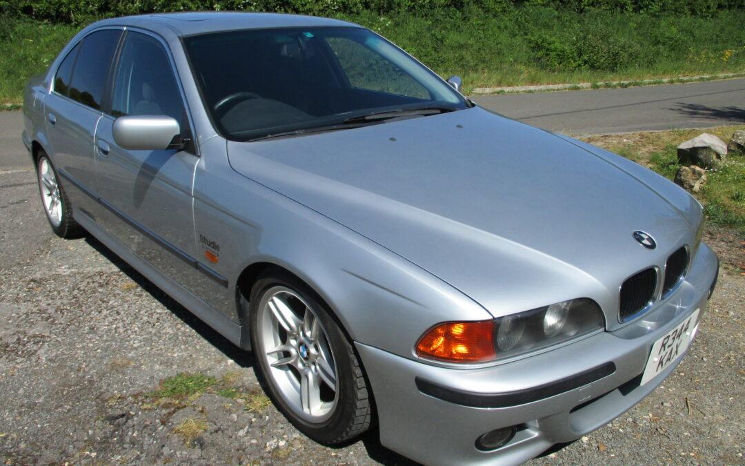 1998 BMW E39 523 to Sport Spec Auto 25000 miles Top Graded car £4650
