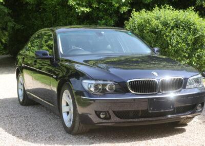2008 BMW 740 Saloon Auto SOLD £265 per annum RFL
