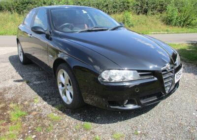 2004 Alfa Romeo 156 2.0 ltr JTS Selespeed Auto Saloon £4850