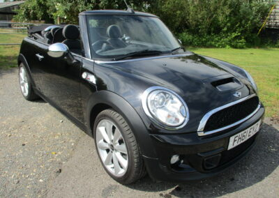 2012 Mini Cooper S Diesel Manual Cabriolet SOLD