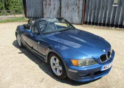 2001 BMW Z3 2.2 Roadster Auto 51000 Miles SOLD