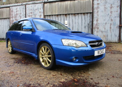 2004 Subaru Legacy 2.0GT Spec B WR limited edition Auto 40000 miles SOLD