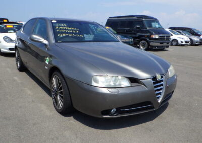 2004 Alfa Romeo 166 3.0V6 Auto. 56500 Miles from new.