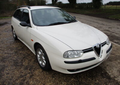 2001 Alfa Romeo 156 2.5 V6 Sportwagon Q System. 36400 miles. SOLD