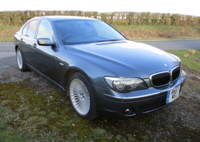 2008 BMW 750 4.8 V8 71000 miles SOLD . £265 RFL and ULEZ Free