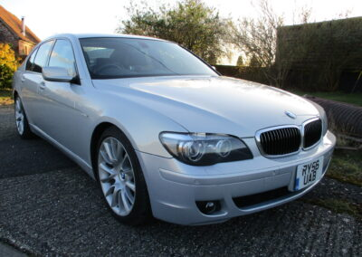 2006 BMW 740 Sport Individual 4.0 V8 66000 miles £7000. £265 RFL and ULEZ free.