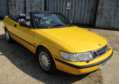 1998 Saab 900S 2.3 Cabriolet Automatic.75000 miles SOLD