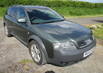 2003 Audi Allroad 2.7 Bi Turbo Automatic. 45800 miles. SOLD