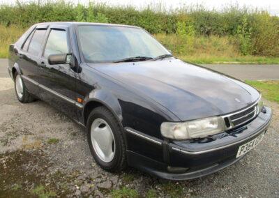 1998 Saab 9000CS Turbo Auto. 40000 miles. £5250.