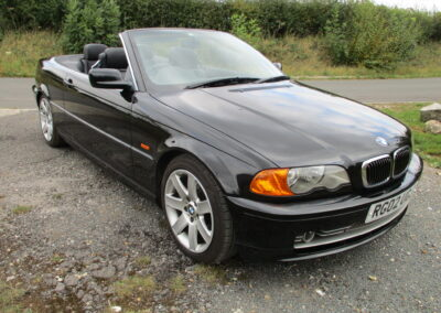 2002 BMW E46 330Ci Cabriolet Automatic, 63500 Miles.Out of the box No Rust anywhere £4950