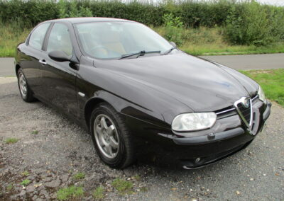2002 Alfa Romeo 156 2.5 V6 Saloon 6 speed manual DEPOSIT TAKEN