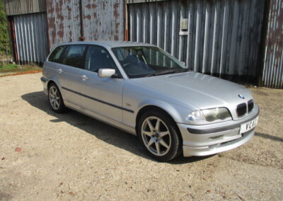 2001 BMW 325 Touring E46 Automatic. 25000 Miles from new. SOLD