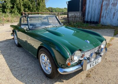 1962 Triumph TR4 Surrey Top Fabulous Car SOLD