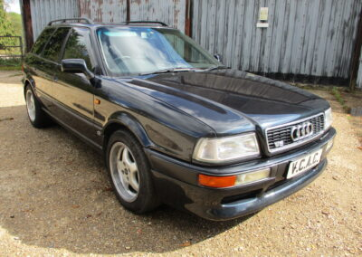 1995 Audi 80 2.6 V6 Avant Automatic. 52500 Miles. SOLD