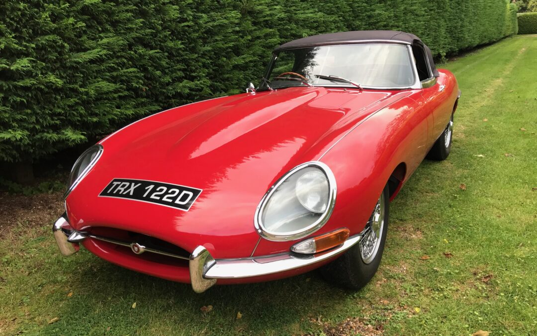 1966 Jaguar E Type 4.2 Series one Roadster. £125000