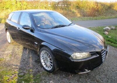 2004 Alfa Romeo 156 2.5 V6 Sportwagon Q system. 38300 miles. SOLD