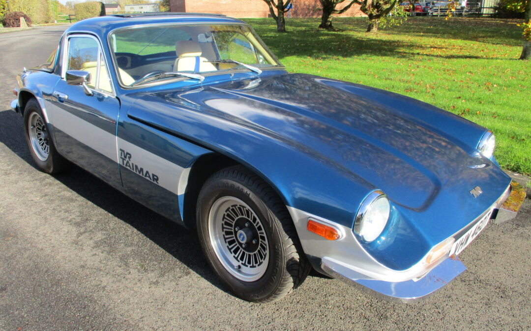 1979 TVR Taimar. Fully restored. SOLD