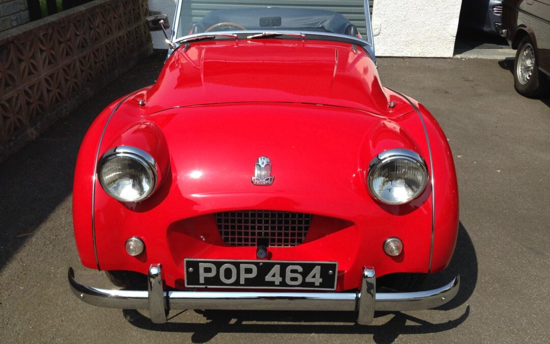 1955 TR2 Fully restored with a great history file. £27495.This car is based in Cornwall so please contact me to arrange a viewing. Selling on behalf of a friend.