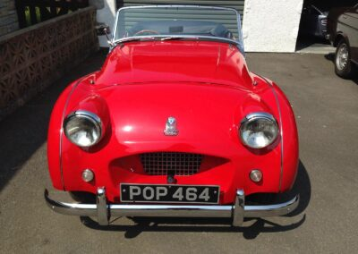 1955 TR2 Fully restored with a great history file. SOLD