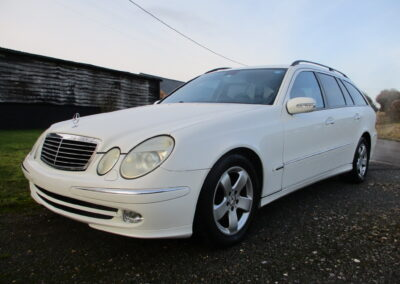 2003 Mercedes Benz E320 V6 Avantgarde Automatic. 44000 miles. SOLD