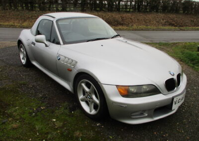 2002 BMW Z3 2.2 Roadster Auto. 43000 Miles Hard Top. SOLD