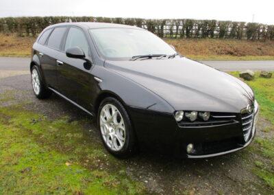 2007 Alfa Romeo 159 Sportwagon 3.2V6 Q4 Automatic. 54000 miles £8000